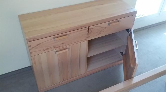 Zu wenig Platz für das neue Möbel